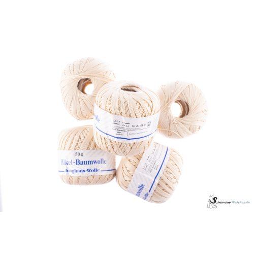 250 g FONAL CSOMAG HAKEL BAUMWOLLE JUNGHAUS 216804 100% PAMUT